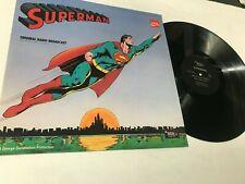 Superman Coca Cola Comic Record lp original vinyl album