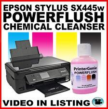 Epson Stylus SX400 445w Compatible Head Cleaner: Nozzle Printhead Unblocker