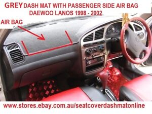 DASH MAT, DASHMAT, DASHBOARD COVER FIT  DAEWOO LANOS 1998 - 2002, A/B  GREY