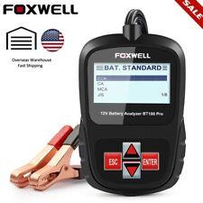 Automotive Car Battery Load Tester 12V Digital Vehicle Analyzer 1100CCA Foxwell