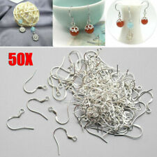 925 Sterling Silver Earring Wires Fish Hooks DIY Jewelry Accessory Wire Findings