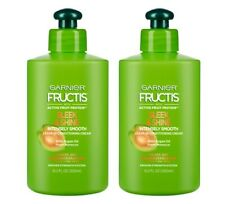 2 Garnier Fructis Sleek & Shine Intensely Smooth Conditioning Cream 10.2 oz