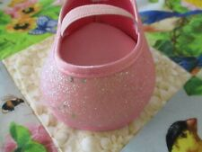 Build a Bear pretty pink glitter party shoe (1 only) - Great condition!