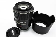 Nikon Micro NIKKOR 105mm f/2.8G AF-S VR IF-ED Lens, MINT CONDITION, AWESOME LENS