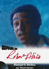 Space 1999 Autograph Trading Card RA1 Robert Atiko As Technician