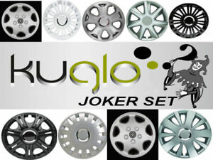 KUGLO Radzierblenden Joker Set 15 ZOLL - 1 Satz (4 Stück) unschlagbar Günstig !