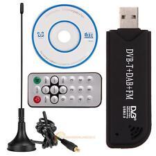 USB2.0 Digital DVB-T SDR + DAB+FM HDTV TV Tuner Empfänger Stick HE RTL28+ FC0012