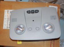 New OEM GM Roof Console Overhead Light Titanium Gray 25972452