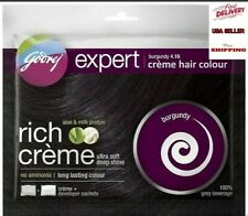 GODREJ EXPERT Rich Crème Herbal Hair Colour Burgundy, No Ammonia, 40ml.