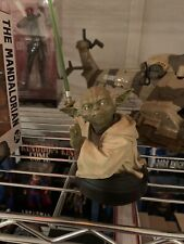 Star Wars Gentle Giant Yoda Mini Bust; No Box Rare, Smoke Free Home