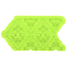 Filigree Damask Silicone Onlay Mold by Marvelous Molds #MMO-1403 Gum Paste Mold