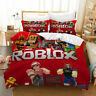 ROBLOX 3PCS Kid Bedding Set Quilt Duvet Cover Pillowcase Comforter Cover US Size