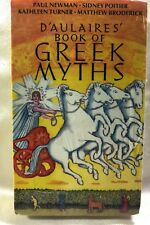 D'AULAIRES' BOOK OF GREEK MYTHS by Ingri & Edgar P. 1996 Audio 4 hours Cassettes
