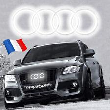 Emblème LED pour Audi, Logo, Illuminé, Grille Badge, Blanc  A3 A4 A5 A6