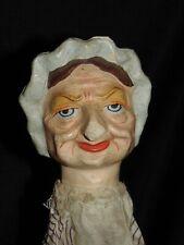 merveilleuse  MARIONNETTE ancienne Victorienne Punch *Judy  papier mache  *Judy