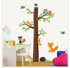 Removable Kids Growth Chart Wall Decals ,Height Chart Childrens Growth