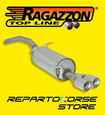 RAGAZZON TERMINALE SCARICO ROTONDI SEAT IBIZA III 6L 1.9 TDI 103/131CV 01/2002>>