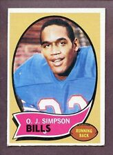1970 Topps O.J. Simpson Buffalo Bills #90 Football Card