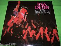 Ina Deter - Das Live Album - 1987 Mercury 2LP
