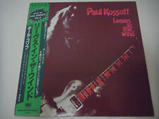 PAUL KOSSOFF-Leaves In The Wind JAPAN 1st.Press w/OBI Free AC/DC Thin Lizzy UFO