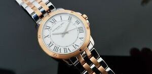 Raymond Weil Tango Rose Gold Plated/St.Steel Gents Watch in Raymond Weil Box.