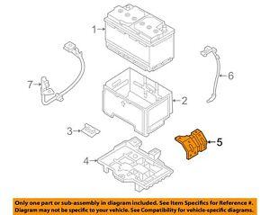 HYUNDAI OEM 11-18 Sonata 2.4L-L4-Battery Tray Support 371303R000