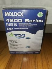 Fast ship. Expire 2029. Moldex 4200 AirWave, Usa Made, New In Box. 1 box