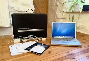 "Boxed Apple PowerBook G4 15.2"" 1.67Ghz 1GB RAM 80GB HDD Model A1138 - Rare"