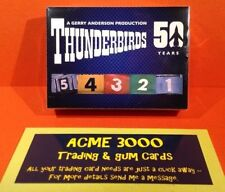 Thunderbirds Collectable Trading Cards