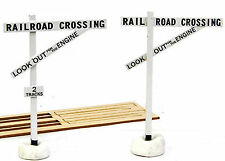 BANTA MODELWORKS EARLY STYLE CROSSING SIGNS O On30 Railroad Structure Kit BM6032