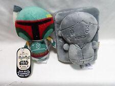 Hallmark Itty Bittys Han Solo in Carbonite Block & Boba Fett Comic Con Exclusive