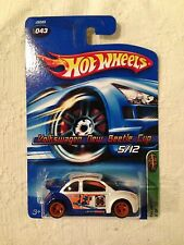 HOT WHEELS 2006 TREASURE HUNT MODEL VOLKSWAGEN NEW BEETLE CUP 5/12, COOL!