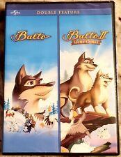 Balto - Balto II: Wolf Quest * DVD 2012 - 2-Disc Set * DOUBLE FEATURE