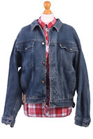 Lee Vintage Denim Trucker Jacket Blue Size L - DJ1075