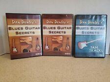 Dan Denley's Blues Guitar Secrets DVD 1 + 2 + Jam Tracks CD