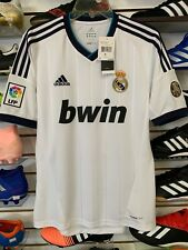 Adidas Real Madrid Retro 100 Años -Vintage Soccer Jersy Stadium Quality Size S