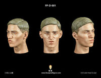 1/6 Facepool Figure FPD001 Youth Male Head Sculpt PVC Head Carving w/ Expression