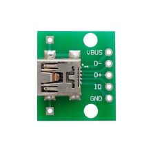 10 pcs Mini USB to DIP Adapter Converter for 2.54mm PCB Board DIY Power Supply