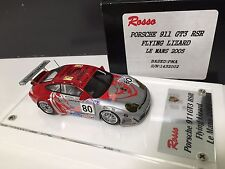 1/43 ROSSO built PM kit PORSCHE FLYING LIZARD 911 RSR GT3 Le Mans 2004 amr bbr