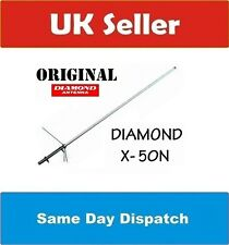 DIAMOND ORIGINAL X-50 N 2M 70CM DUAL BAND BASE ANTENNA HAM RADIO PMR 446