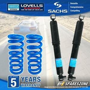 Rear Sachs Shocks Lovells HD Standard Springs for Holden Statesman WM V6 V8