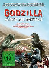 GODZILLA - Attack all monsters DVD *NEU*OVP*