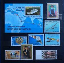 R894. Feuillet et timbres neufs**. belle gomme. DJIBOUTI
