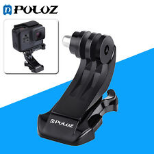 PULUZ Black Vertical Surface J-Hook Buckle Mount for GoPro HERO5 4 3 + 2 1,PU148