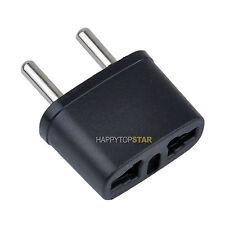 US/AU//UK/CA to EU/France/Gemany 5mm Universal Travel Power Socket Plug Adapter