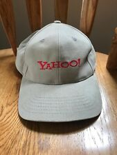 Yahoo! Adjustable Baseball Cap Tan Beige Hat