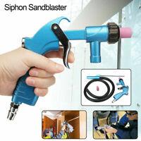 Sandblaster Air Siphon Sand Blasting Feed Blast Gun Tube Ceramic Nozzle Abrasive
