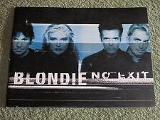 BLONDIE No exit 1999 TOUR PROGRAMME!