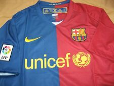 Nike Dri Fit ORIGINAL Barcelona Home Jersey Size XL with Nike Black Bag