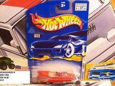 HOT WHEELS 2001 FE #32 CARD #52 -1 57 ROADSTER RED SMAL HUB 01CA